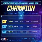 The 1st MCL CHAMPION!