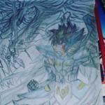Mi Primer Dibujo de Seint Seiya