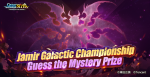 The Jamir Galactic Championship is starting soon!signs is comingins!