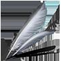 White Raven Wing