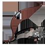 Hyperbelbogen mit gerissener Sehne