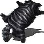 Schattenkatzenhaut