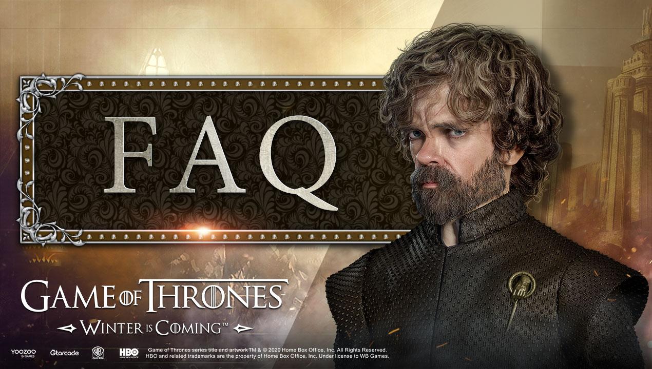 FAQ - 常见问题